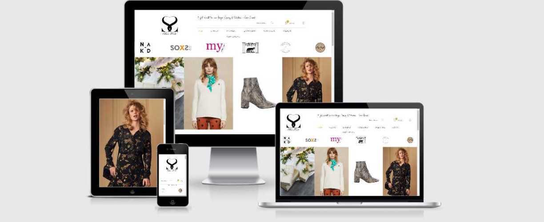 Silvermode webdesign door eNOISE