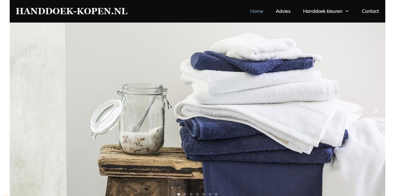 handdoek-kopen satelliet website
